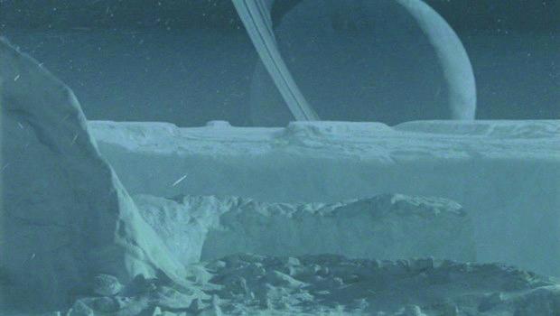 Panoramablick auf die Eisebenen von Andoria, dem Eisigen Juwel